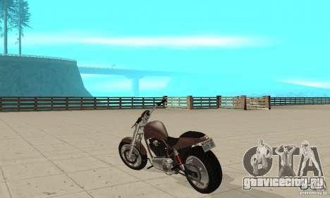 GTAIV Reverant для GTA San Andreas вид сзади слева
