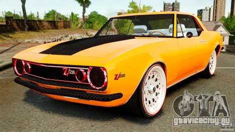Chevrolet Camaro Z28 1969 для GTA 4