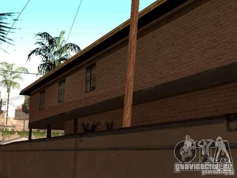 Новый дом СиДжея для GTA San Andreas пятый скриншот