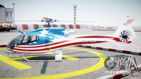 Eurocopter EC 130 B4 USA Theme для GTA 4 вид слева
