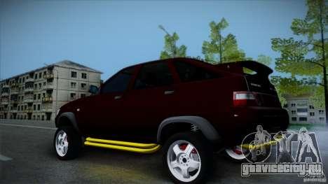 ВАЗ 4х4 Тарзан для GTA San Andreas вид слева