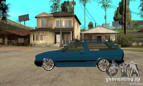 VW Parati GLS 1989 JHAcker edition для GTA San Andreas вид слева