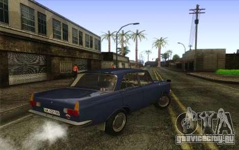 ИЖ 412 Москвич для GTA San Andreas вид сзади слева