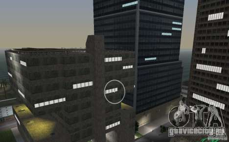 New Downtown: Hospital and scyscrap для GTA Vice City восьмой скриншот