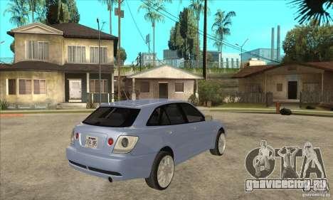 Toyota Alteza Wagon для GTA San Andreas вид справа