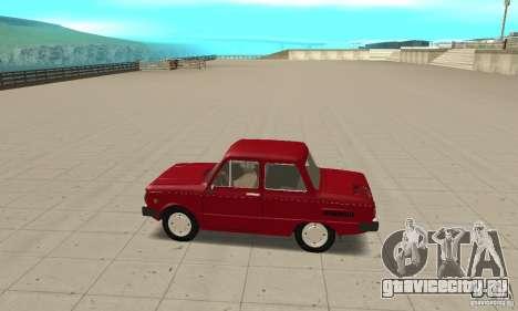 ЗАЗ 968M для GTA San Andreas вид слева