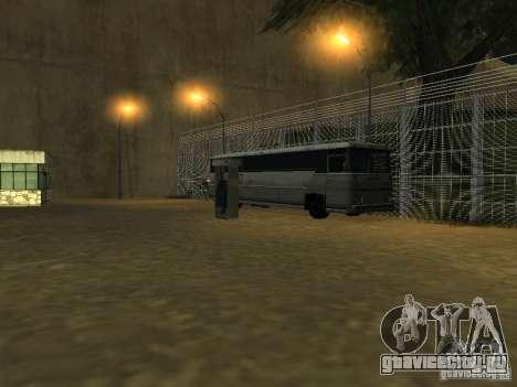 Автобусный парк v1.1 для GTA San Andreas четвёртый скриншот