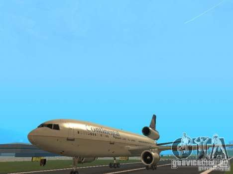 McDonell Douglas DC10 Continental Airlines для GTA San Andreas