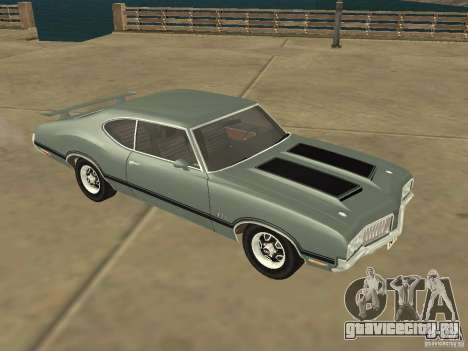 Oldsmobile 442 Cutlass 1970 для GTA San Andreas вид слева