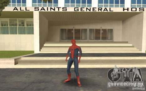 Skins from Spider-Man для GTA San Andreas