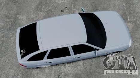 ВАЗ-2172 FBI для GTA 4 вид справа