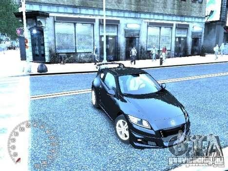 Honda Mugen CR-Z для GTA 4 вид слева