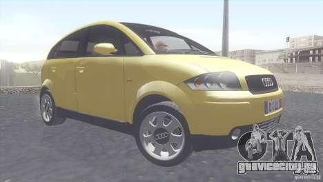 Audi A2 для GTA San Andreas вид слева