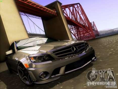 Mercedes-Benz C36 AMG для GTA San Andreas двигатель
