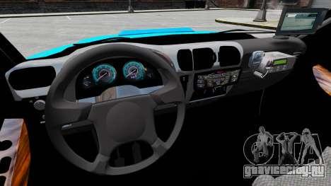 Chevrolet Blazer 2010 PMERJ ELS для GTA 4 вид сзади