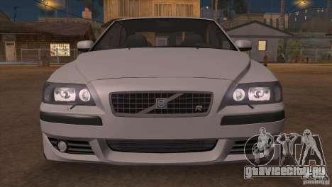 Volvo S60R для GTA San Andreas вид снизу