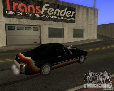 HD Diablo для GTA San Andreas вид сзади слева