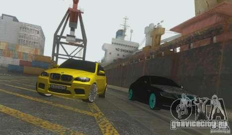 BMW X5M Gold Smotra v2.0 для GTA San Andreas вид справа