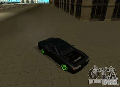 Elegy Green Drift для GTA San Andreas вид справа