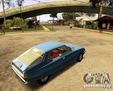 Citroen SM 1971 для GTA San Andreas вид слева