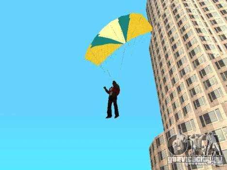 Парашют из TBOGT для GTA San Andreas