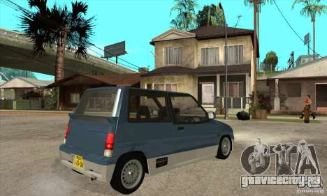 Suzuki Alto Works для GTA San Andreas вид справа