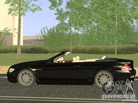 BMW 650I для GTA San Andreas вид слева