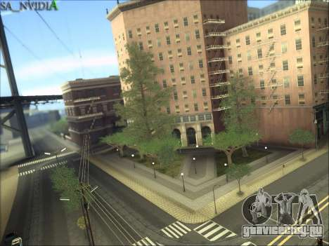 SA_NVIDIA v1.0 для GTA San Andreas пятый скриншот