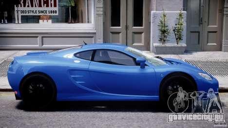 Ascari KZ-1 для GTA 4 вид снизу