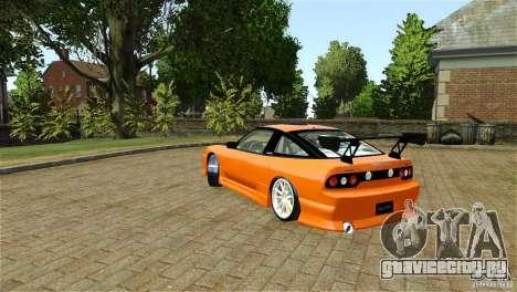 Nissan Sil1480 Drift Spec для GTA 4 вид справа