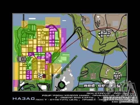 San Fierro and Los Santos Gang Zone для GTA San Andreas второй скриншот