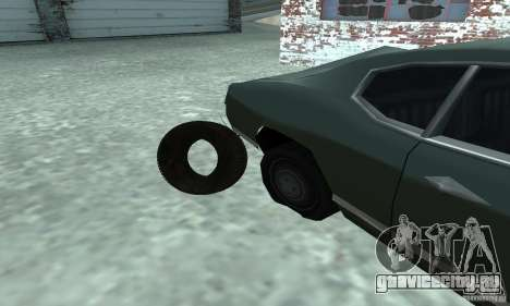 Покрышка для GTA San Andreas вид справа