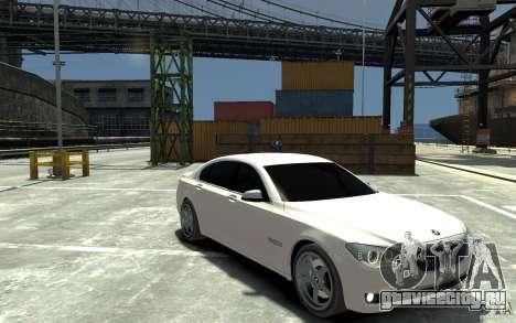 Bmw 750 LI v1.0 для GTA 4 вид сзади