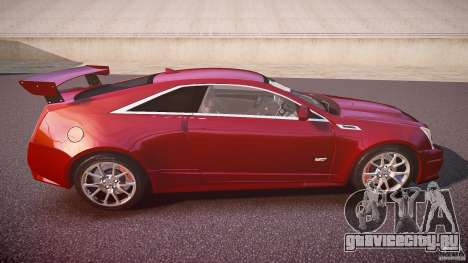 Cadillac CTS-V Coupe для GTA 4 вид сбоку