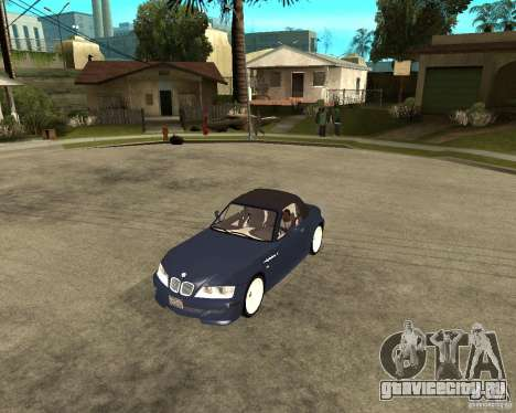 BMW Z3 Roadster для GTA San Andreas