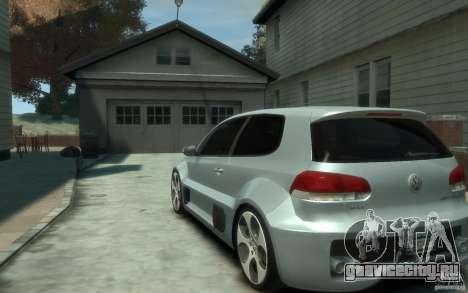 Volkswagen Golf W12-650 для GTA 4