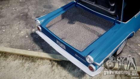 Dodge Dart 440 1962 для GTA 4 вид сбоку