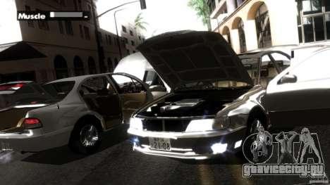 Nissan Cefiro A32 Kouki для GTA San Andreas салон