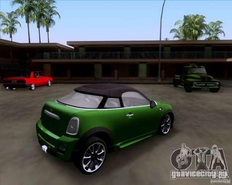 Mini Cooper Concept v1 2010 для GTA San Andreas вид слева