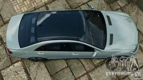 Mercedes-Benz S65 AMG 2012 v1.0 для GTA 4 вид сзади