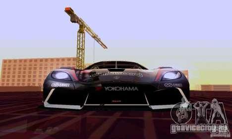 Koenigsegg Agera R для GTA San Andreas вид сбоку