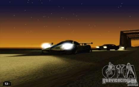 ENBSeries HD для GTA San Andreas десятый скриншот