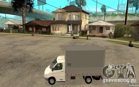 Mercedes-Benz Sprinter Truck для GTA San Andreas вид слева