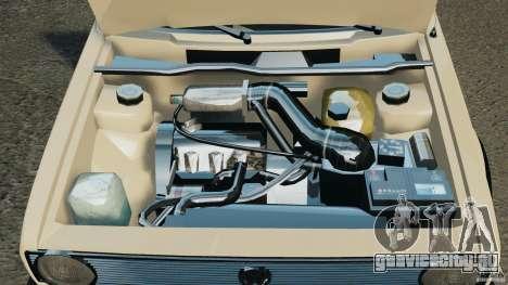 Volkswagen Golf Mk1 Stance для GTA 4 вид сверху