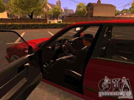 BMW M5 E34 для GTA San Andreas вид сверху