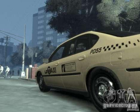 Chevrolet Impala 2003 Taxi для GTA 4 вид сверху