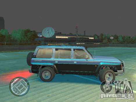 Nissan Safari 1992 для GTA 4 вид слева