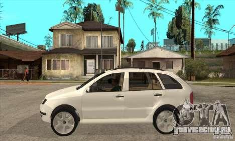 Skoda Fabia Combi для GTA San Andreas вид слева