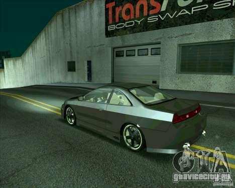 Honda Accord Tuning для GTA San Andreas вид справа