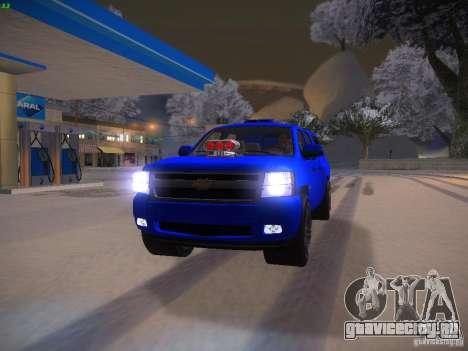 Chevrolet Silverado для GTA San Andreas вид сбоку